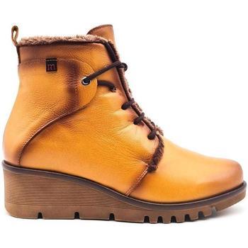Zapatos Mujer Botas de caña baja Pepe Menargues 20832 amarillo