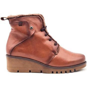 Zapatos Mujer Botas de caña baja Pepe Menargues 20832 Marrón