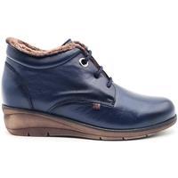 Zapatos Mujer Botas de caña baja Pepe Menargues 20667 Azul