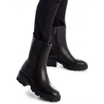 Zapatos Mujer Botines Carmela CHELSEA ALTO PISO TRACK Negro