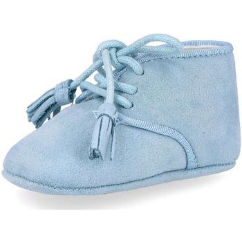 Zapatos Niños Botas Bubble Bobble A-3470 CELESTE