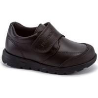 Zapatos Niño Derbie Pablosky Colegiales de piel by Marron