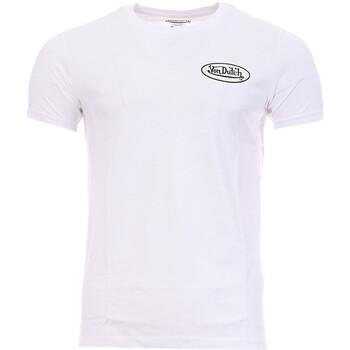textil Hombre Camisetas manga corta Von Dutch  Blanco
