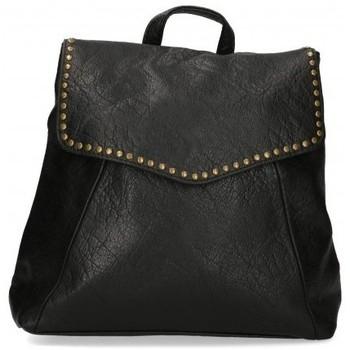Bolsos Mujer Mochila Luna Collection 56808 negro