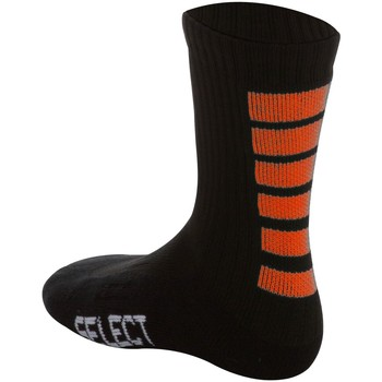 Accesorios Calcetines Select Chaussettes  Sports Striped noir/orange