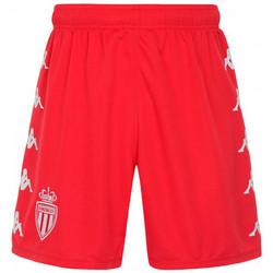 textil Niños Shorts / Bermudas Kappa AS Monaco FC Primera Equipación 2021-2022 Niño Red-White