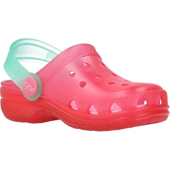 Zapatos Niña Zuecos (Clogs) IGOR S10116 Rosa