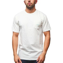 textil Hombre Camisetas manga corta Vans VN0A54BUWHT1 Blanco