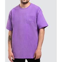 textil Hombre Camisetas manga corta Vans MN COLOR MULTIPLIER Violeta