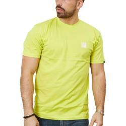 textil Hombre Camisetas manga corta Vans RETRO SPORT SS Amarillo