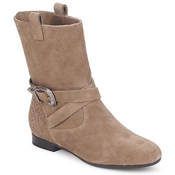 Zapatos Mujer Botas de caña baja Couleur Pourpre TAMA Topotea