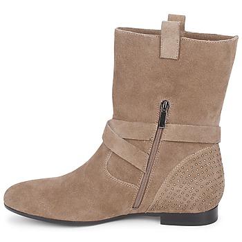 Couleur Pourpre TAMA Topotea - Envío gratis |  - Zapatos Botas de caña baja Mujer 11120