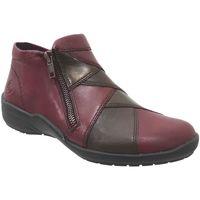 Zapatos Mujer Botas de caña baja Remonte Dorndorf R7674 Burdeos