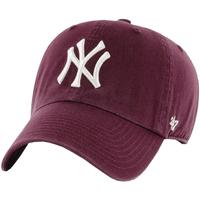Accesorios textil Hombre Gorra 47 Brand New York Yankees MLB Clean Up Cap Bordeaux