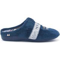 Zapatos Hombre Pantuflas Berevere IN1601 Azul