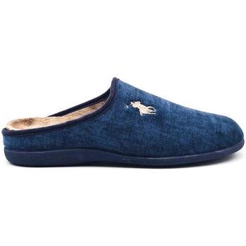 Zapatos Hombre Pantuflas Vivant 533 Azul