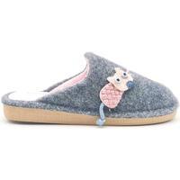 Zapatos Mujer Pantuflas Berevere IN1509 Rosa