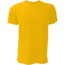textil Hombre Camisetas manga corta Bella + Canvas CA3001 Dorado