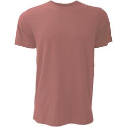 textil Hombre Camisetas manga corta Bella + Canvas CA3001 Malva