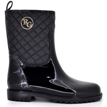 Zapatos Mujer Botas urbanas Exé Shoes BOTAS AGUA BLACK CAÑA BAJA 46-647S BLACK