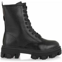 Zapatos Mujer Botas de caña baja Exé Shoes BOTINES ESTILO MILITAR NEGROS RG2299 BLACK