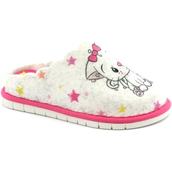 Zapatos Niños Pantuflas Grunland GRU-I21-CI2418-GH Bianco