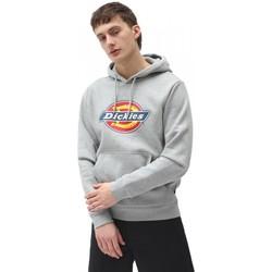textil Hombre Sudaderas Dickies Icon Logo Hoodie Grey Melange Gris