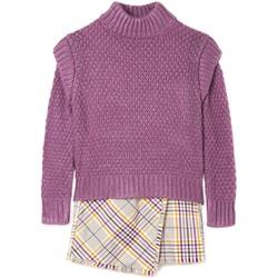 textil Niña Conjunto Mayoral Vestido tricot cuadros Rosa