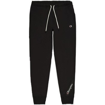 textil Hombre Pantalones de chándal Champion 216552 KK001 NBK Negro