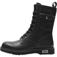 Zapatos Niño Botas de caña baja Cult - Anfibio nero CRUSH NERO