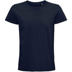 textil Camisetas manga corta Sols 03565 Azul
