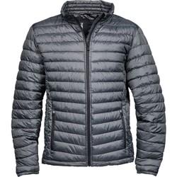 textil Hombre Plumas Tee Jays TJ9630 Gris