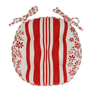 Casa Cojín de silla Comptoir de famille TAPISSIER Rojo