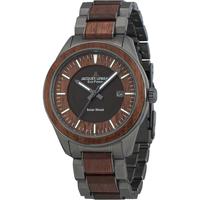Relojes & Joyas Hombre Relojes analógicos Jacques Lemans 1-2116I, Quartz, 40mm, 10ATM Gris