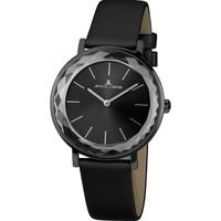 Relojes & Joyas Mujer Relojes analógicos Jacques Lemans 1-2054C, Quartz, 37mm, 5ATM Negro