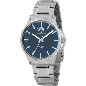 Relojes & Joyas Hombre Relojes analógicos Jacques Lemans 1-1540M, Quartz, 42mm, 10ATM Plata