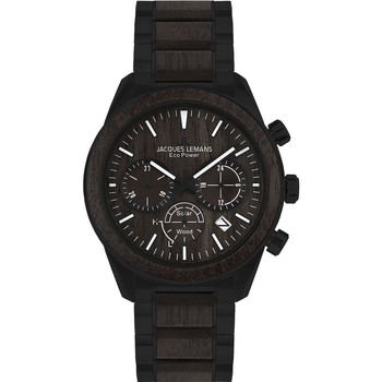 Relojes & Joyas Hombre Relojes analógicos Jacques Lemans 1-2115M, Quartz, 44mm, 10ATM Negro