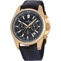 Relojes & Joyas Hombre Relojes analógicos Jacques Lemans 1-2117E, Quartz, 44mm, 20ATM Oro