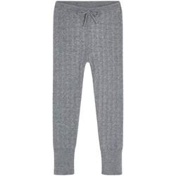 textil Niña Pantalones de chándal Mayoral Leggings malla tricot Gris