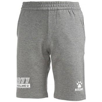 textil Niños Pantalones cortos Kelme SHORT CLASSIC JR TEAM Gris