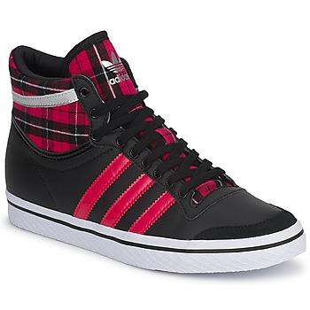 Zapatos Mujer Zapatillas altas adidas Originals TOP TEN VULC W Negro / Pink / S13-metalico / Silver