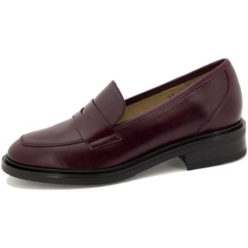 Zapatos Mujer Mocasín Piesanto 215527 Burdeo