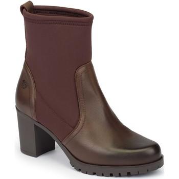 Zapatos Mujer Botines Yokono Praga Marrón