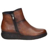 Zapatos Mujer Botines Dorking BOTINES  D8571 SEÑORA CUERO Beige