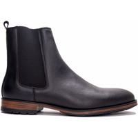 Zapatos Hombre Botas de caña baja Nae Vegan Shoes Basti_Black Negro