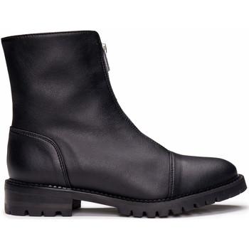 Zapatos Mujer Botas de caña baja Nae Vegan Shoes Tecla_Black Negro