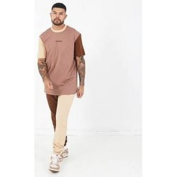 textil Hombre Camisetas manga corta Sixth June T-shirt  Tricolor Regular beige
