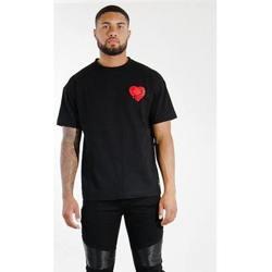 textil Hombre Camisetas manga corta Sixth June T-shirt  Oversize noir