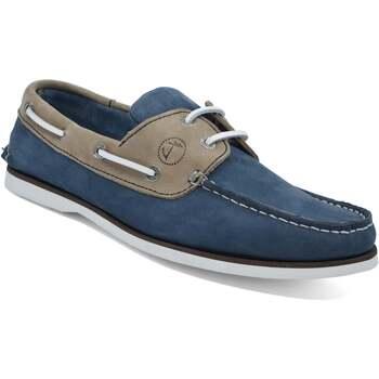 Zapatos Mujer Zapatos náuticos Seajure Náuticos Vicentina Camello y azul