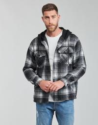 textil Hombre cazadoras Yurban  Negro / Gris
